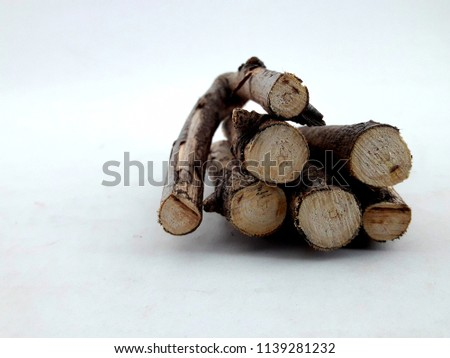 dry twigs with bark #1139281232