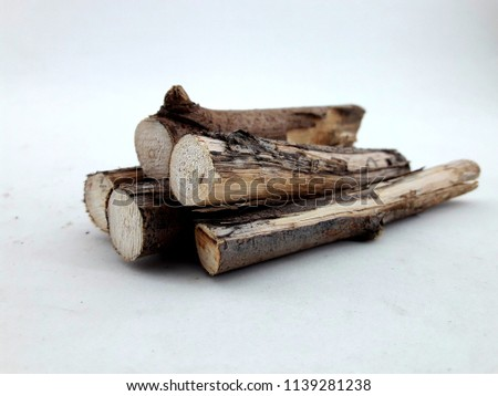 dry twigs with bark #1139281238