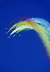 dubai airshow cabin crew sky blue flight valentinesday