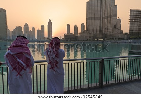 Dubai arabs