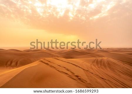Dubai Desert, United Arab Emirates, UAE