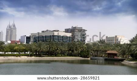 Dubai Media City Phase 1, and the famous Radison SAS hotel & Starcom Office.