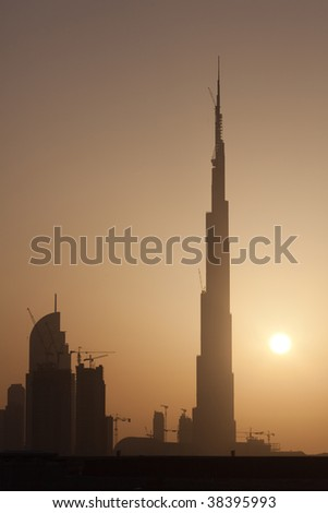 Dubai.Sunset.