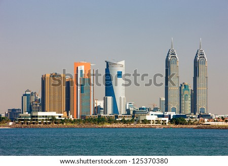 DUBAI, UAE - MAY 7 - Dubai Media City (DMC) part of Dubai Holding is a tax free zone within Dubai, has been built by the Dubai government to boost UAE's media foothold. May 7, 2010.