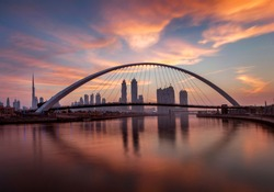 Dubai UAE Sunset