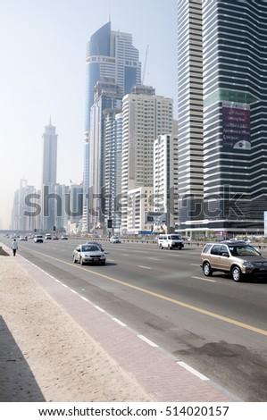 Dubai, United Arab Emirates. December 14 2010. A view of the city.