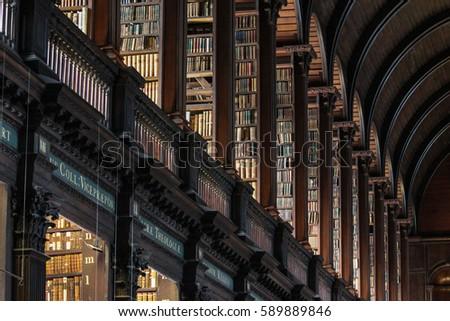 Dublin Ireland : Trinity College