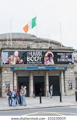 DUBLIN - MAY 20: The Human Body Exhibition in The Ambassador in Dublin extends till the end of July on May 20, 2012 in Dublin. The Human Body Exhibition features over 200 bodies and individual organs.