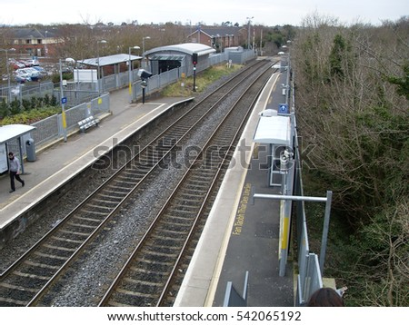 Dublin Pearse Train Station - Irish Rail - Ireland #542065192