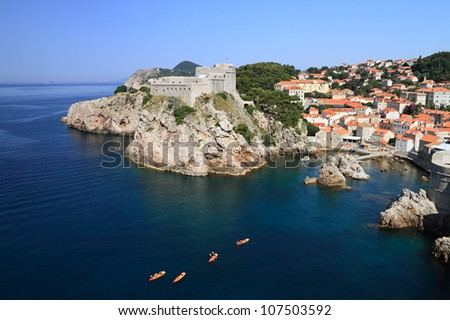 "Dubrovnik is nicknamed ""Pearl of the Adriatic"" and is listed as a UNESCO World Heritage Site since 1979."