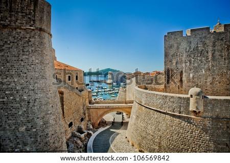 Dubrovnik old city Croatia fortress