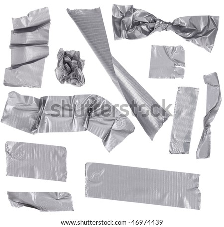 Duct Masking Tape - stock photo