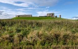 Duffus Castle Elgin Moray historic Scottish Castle