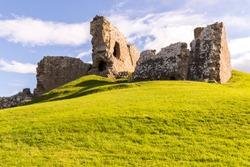 Duffus Castle in Scotland 3
