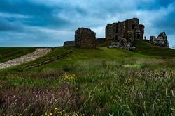 Duffus Castle, Moray.
