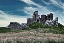 Duffus Castle, Moray, Scotland, October 2020