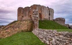 Duffus Castle Moray Scotland ruin