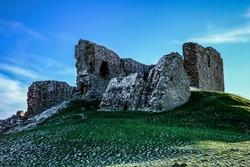 Duffus Castle near Elgin Moray