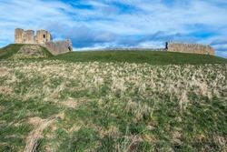 Duffus Castle, near Elgin, Moray, Scotland,  a historic motte-and-bailey castle.