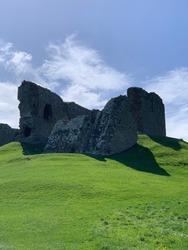 Duffus castle ruins near Elgin