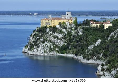 Trieste Castle Duino Duino Castle And Coastline