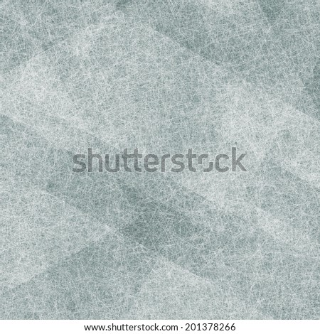dull blue gray background with layers of white parchment shapes, angled rectangles in abstract diagonal pattern composition, faded white texture