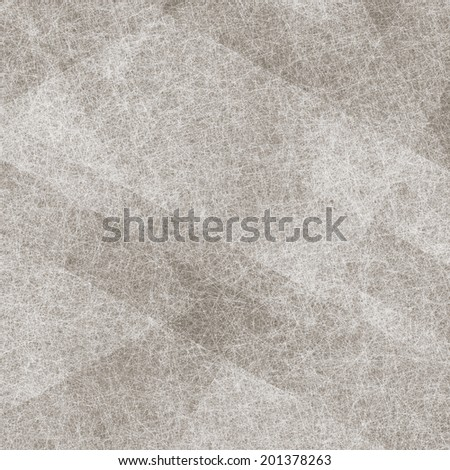 dull gray brown background with layers of white parchment shapes, angled rectangles in abstract diagonal pattern composition, faded white texture
