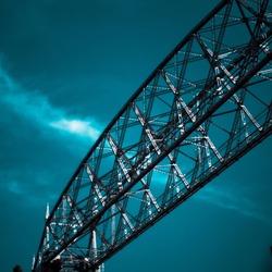 Duluth Aerial Lift Bridge in Minnesota
