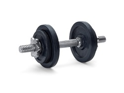 Dumbell isolated on white
