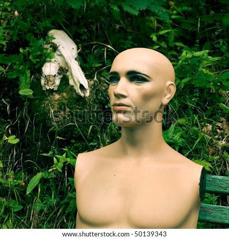 Dummy in the forest