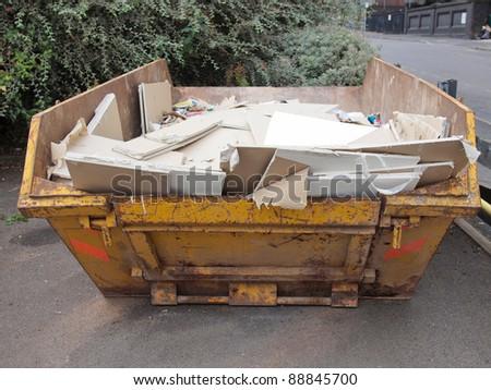 Dumper for construction and demolition material debris #88845700
