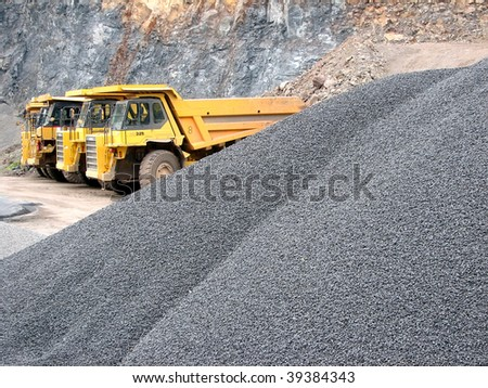 dumpers - stock photo