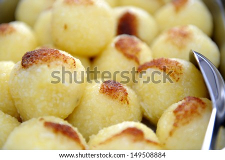 dumpling - stock photo