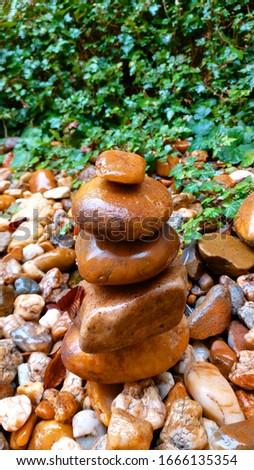 Duna part stones emlék kővek Stock fotó ©