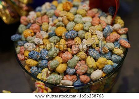 Dunakavics, retro candy in the Soviet Union stock photo.  Stock fotó ©