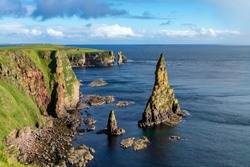 Duncansby Head is the most north-easterly part of the Scottish mainland, including even the famous John o` Groats, Caithness, Highland