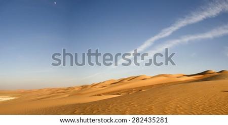 Dune desert , Abu Dhabi, UAE