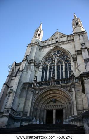 Dunedin Sirst Church - stock photo