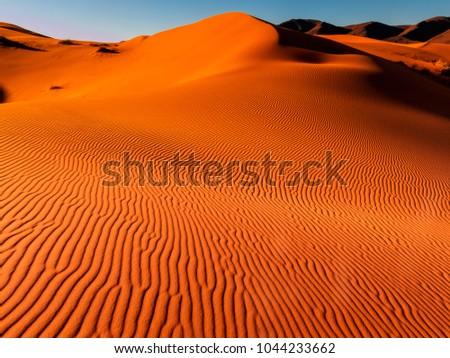 Dunes of Erg Chebbi, Sahara Desert, Morocco