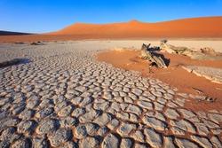Dunes of the Namib Desert, Sossusvlei, Namibia, Africa
