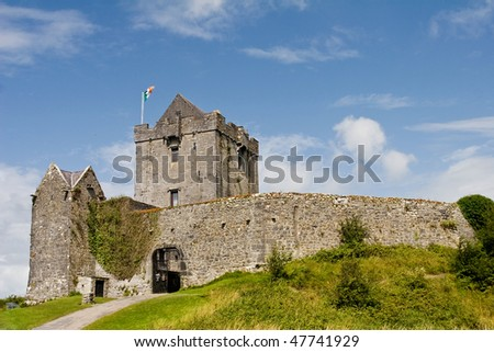 Dunguaire Castle castle near Galway city, Ireland.