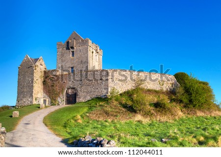 Dunguaire castle near Kinvara in Co. Galway, Ireland
