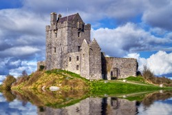 Dunguaire castle near Kinvarra in Co. Galway, Ireland