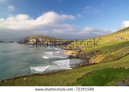 Dunquin bay in Ireland - Co. Kerry