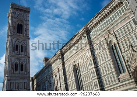 Duomo cathedral in Florence, Italy.