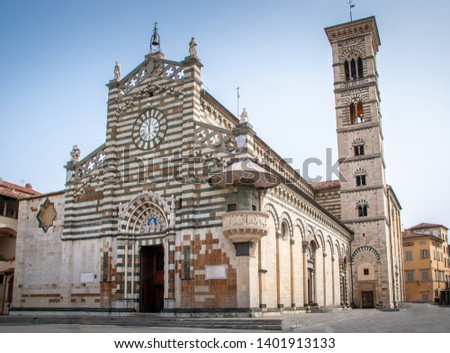 Duomo the Cathedral of Prato, Tuscany, Italy, Europe #1401913133