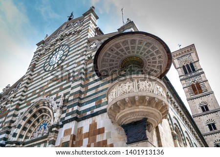 Duomo the Cathedral of Prato, Tuscany, Italy, Europe #1401913136