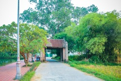 """Duong Lam ancient village, """"the land of two kings"""" Photo taken at Son Tay district, Ha Tay Province,Ha Noi -  Vietnam 06/10/2018."""