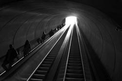 Dupont Circle Metro Station in Washington DC, USA