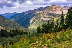 Durango Colorado alpine peaks and valleys